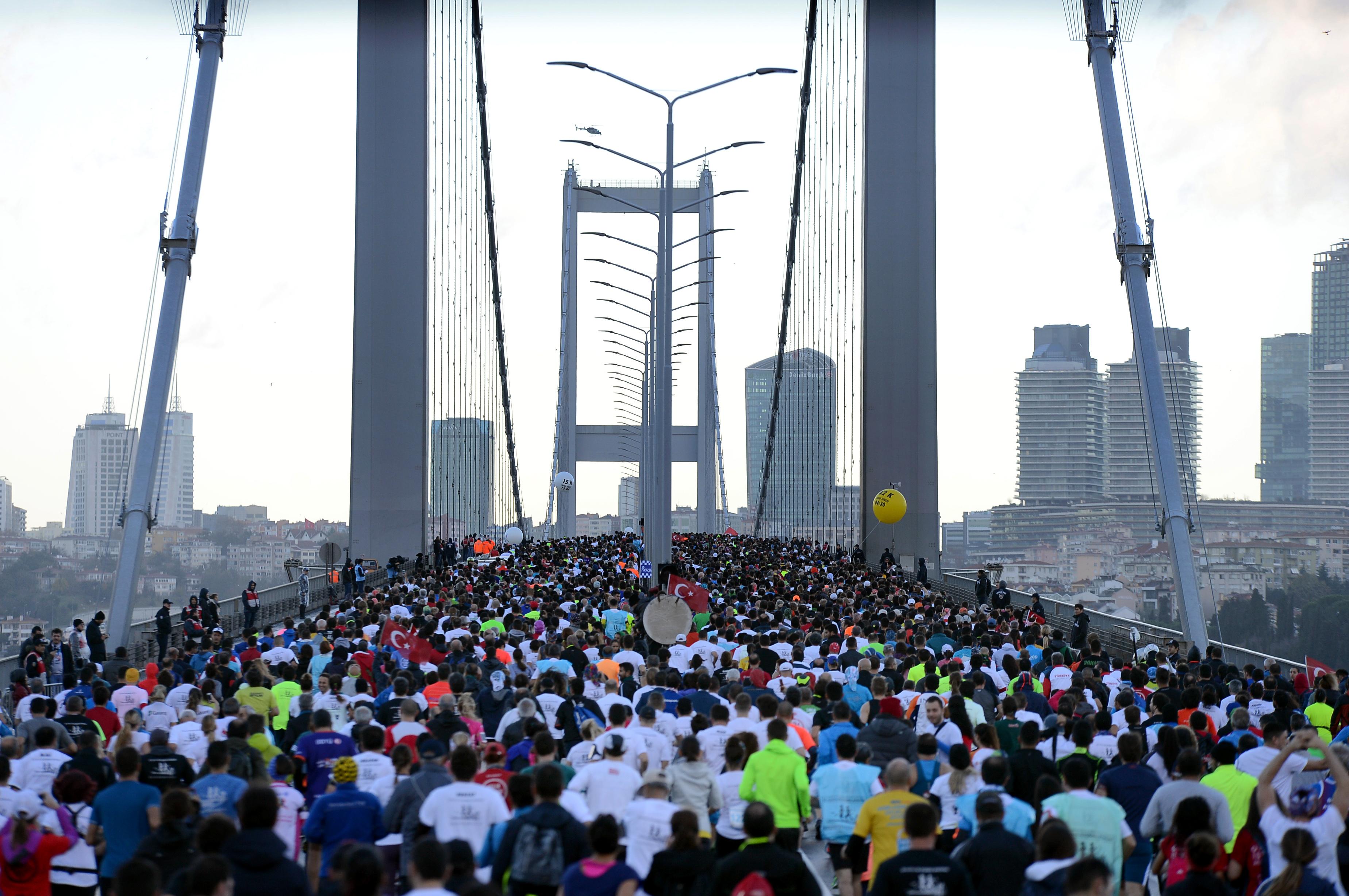 Vodafone 39. İstanbul Maratonu yeni parkurları