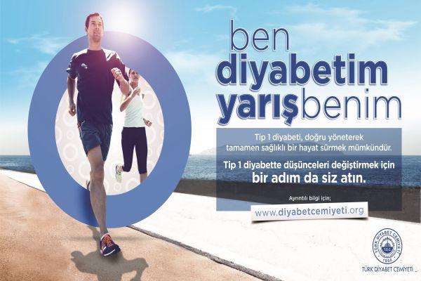 Diyabetliler maraton koşaçak!