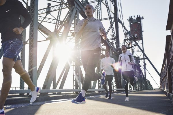 Nike'ın yeni teknojisiyle ürettiği ilk koşu ayakkabısı