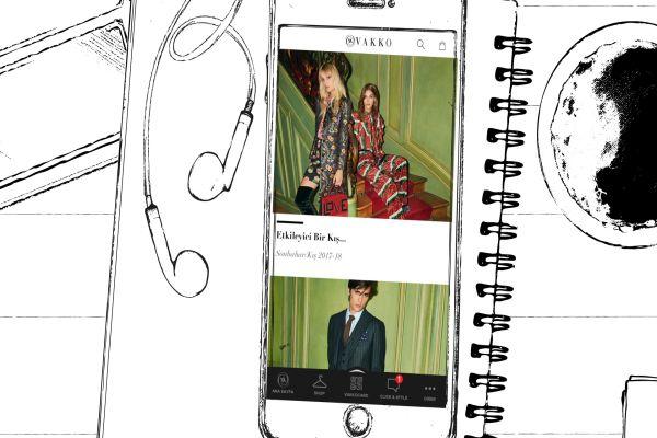 Click & Style ile online lüks mağazacılıkta Vakko imzası