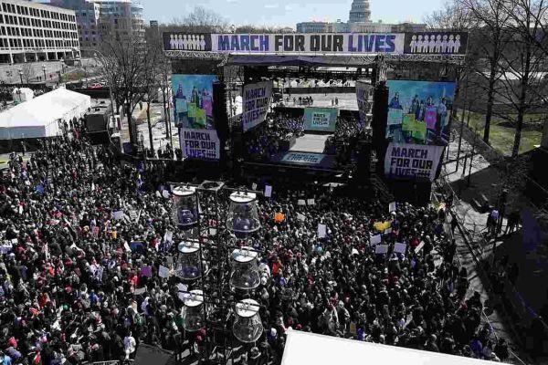 'March for our lives' yürüyüşlerine ünlüler de katıldı!