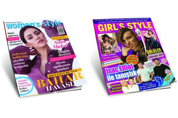 Girl's Style Türkiye ve Women's Style Türkiye Mayıs 2018 sayısı bayilerde
