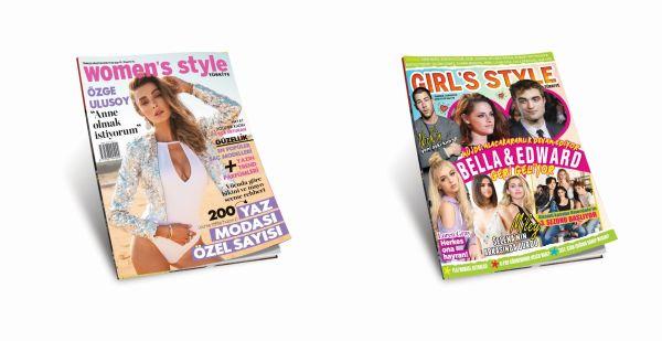 Women's Style Türkiye ve Girl's Style Türkiye Temmuz-Ağustos altın sayısı bayilerde!