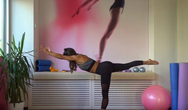 Spora yeni başlayanlar için evde egzersiz videosu