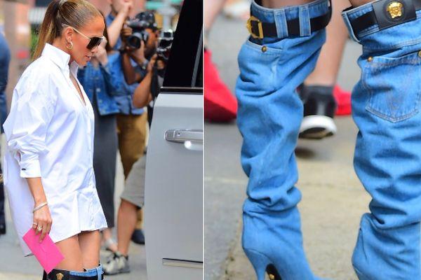 Jennifer Lopez'in botları gündeme oturdu!