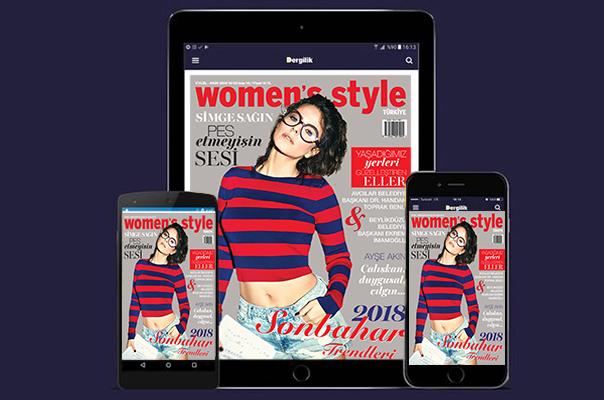 Women's Style Ekim sayısı Turkcell Dergilik'te yayında!
