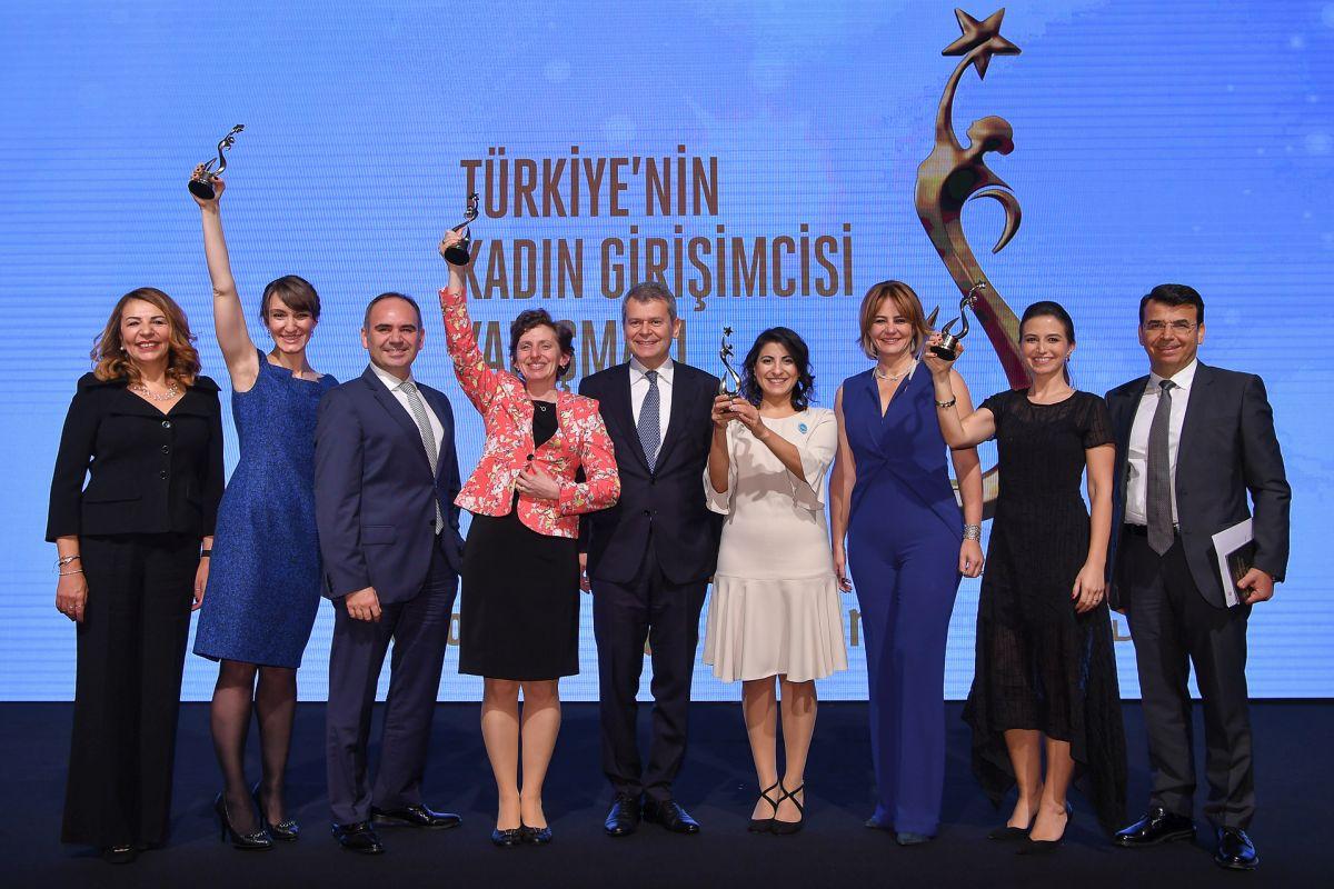 Türkiye'nin Kadın Girişimcisi Yarışması sonuçlandı