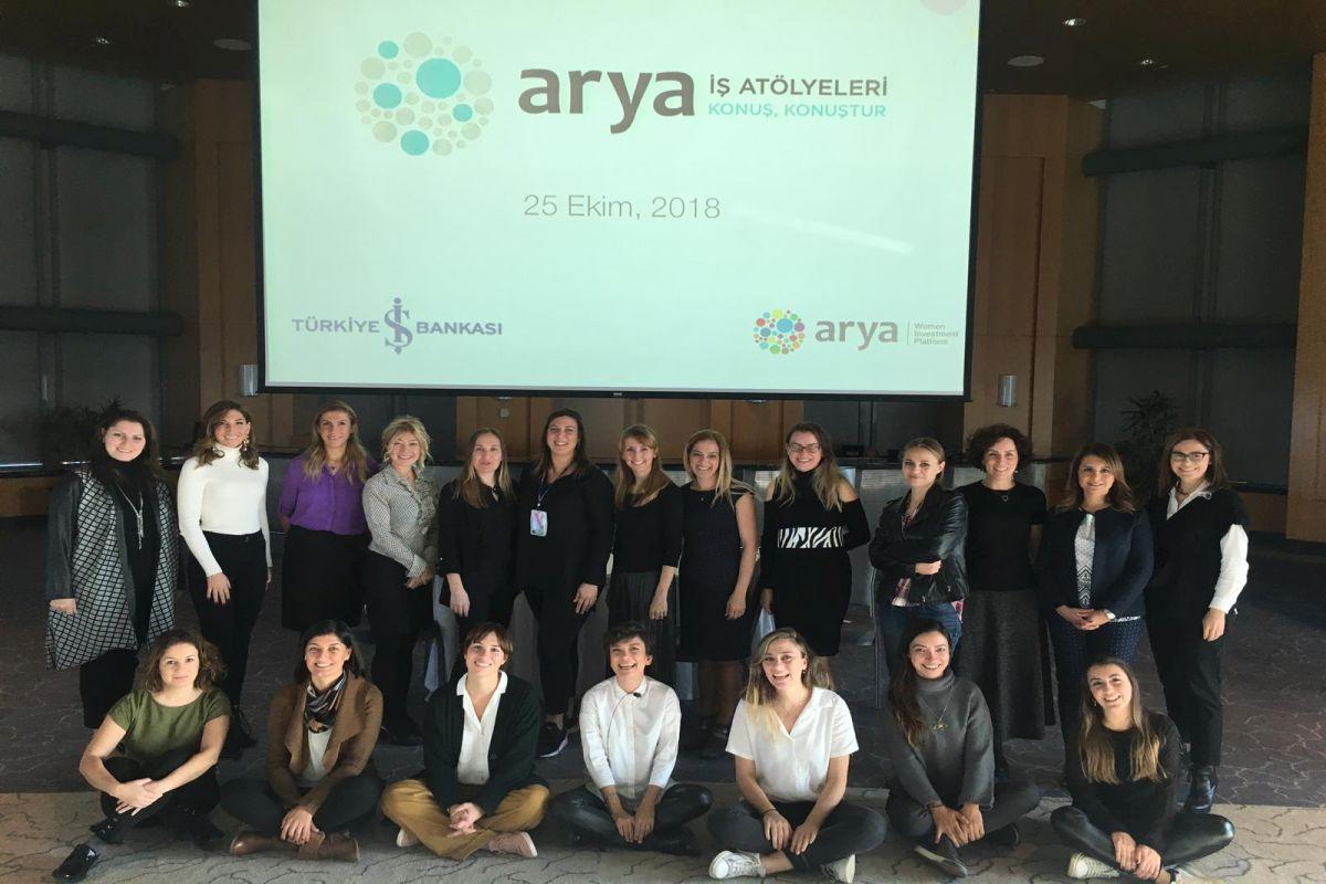 Kadın girişimciler Arya İş Atölyeleri eğitiminde buluştu