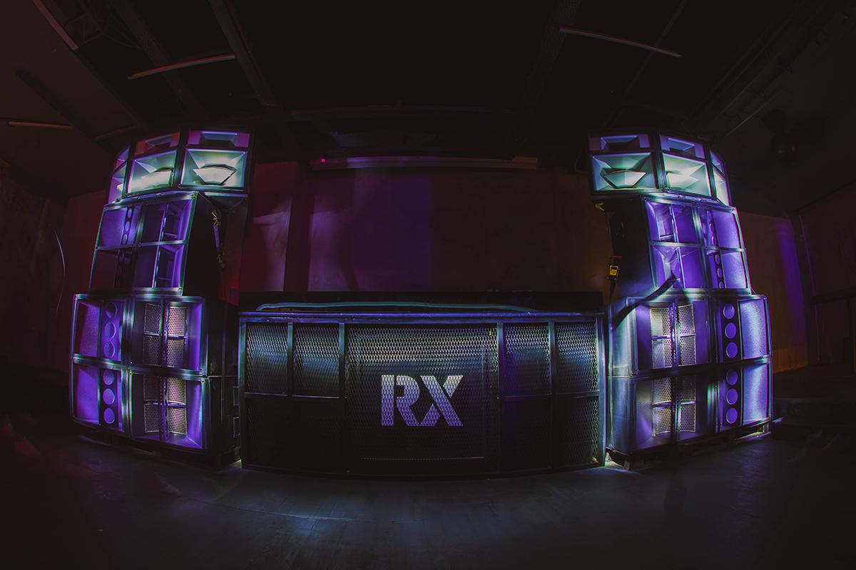 Şehrin yeni elektronik müzik markası RX ROXY'de!