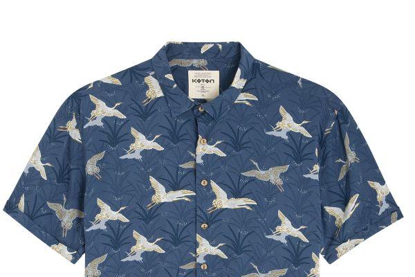 Rengarenk gömlekler sezona damgasını vuruyor