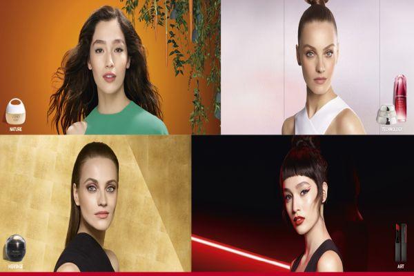 Shiseido eşsiz güzellik anlayışı sunuyor