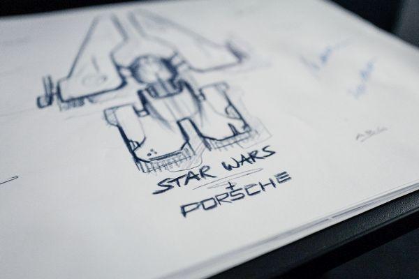 Porsche ve Lucasfilm Star Wars için uzay gemisi tasarlıyor