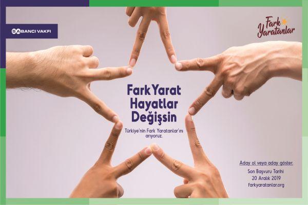 Sabancı Vakfı Türkiye'nin Fark Yaratanlarını arıyor