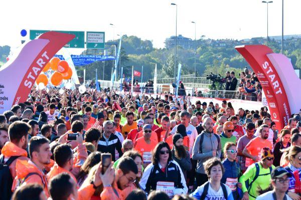 Vodafone İstanbul Maratonu bağış rekoru kırdı