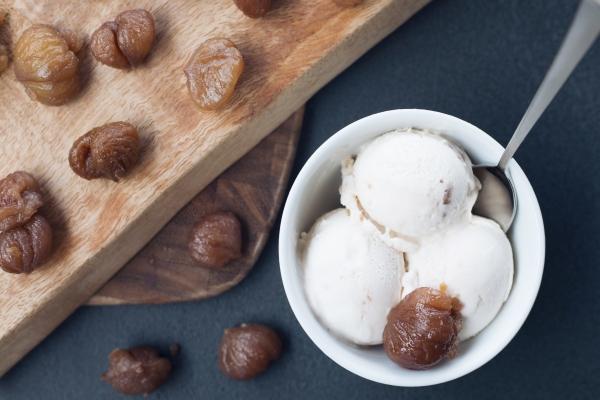 Kestaneli dondurma Kahve Dünyası'nda yerini aldı