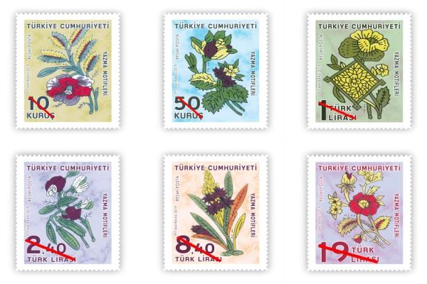 PTT'den yeni pullar tedavüle sunuldu