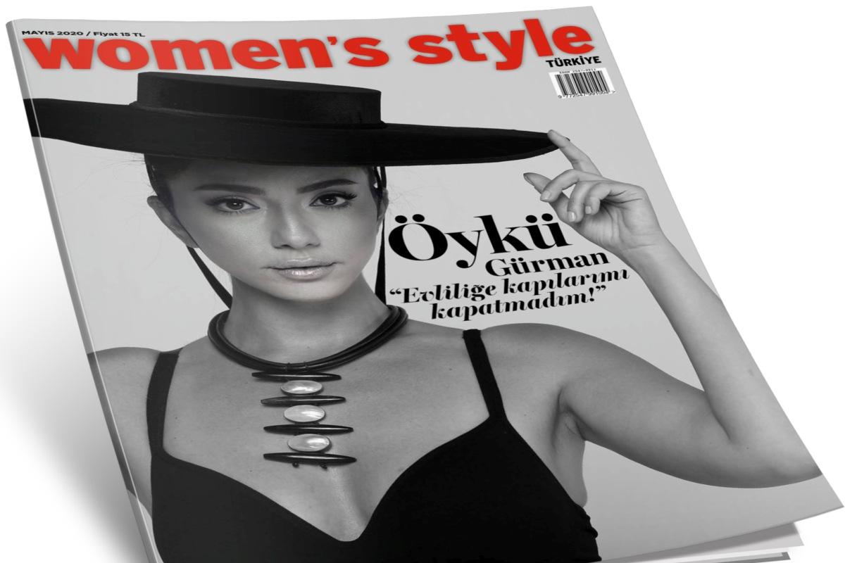 Women's Style Türkiye Mayıs altın sayısı bayilerde ve Turkcell Dergilik'te!