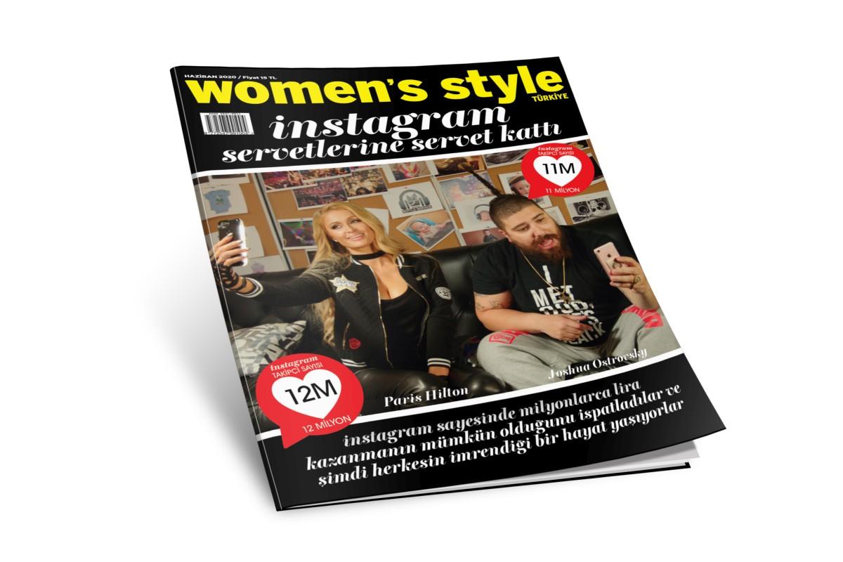 Women's Style Türkiye Haziran sayısı bayilerde ve Turkcell Dergilik'te!