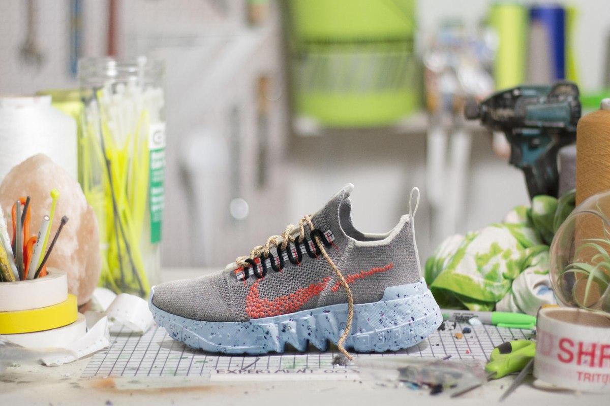 Karşınızda çöpten üretilen Nike Space Hippie!