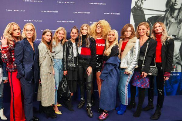 Gigi Hadid TommyXGigi sonbahar koleksiyonunu Kopenhag'da kutladı