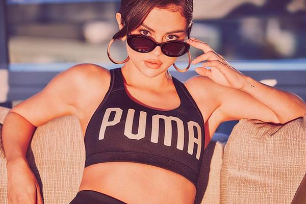 Puma Selena Gomez ile yola devam edecek!