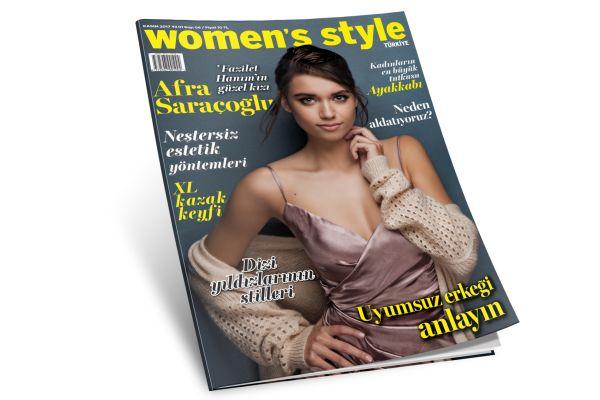 Women's Style Kasım sayımız çıktı! Aldınız mı?