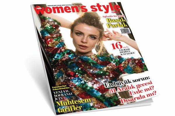 Women's Style Türkiye Aralık sayısı çıktı. Aldınız mı?
