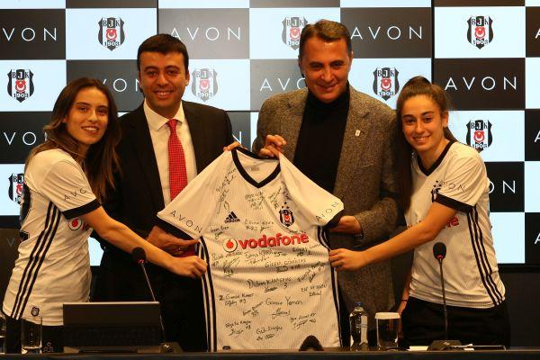 Avon, Beşiktaş JK kadın futbol takımının sponsoru oldu