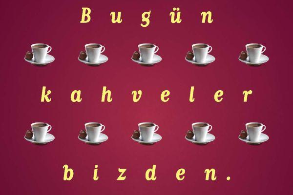 Bugün ki kahveniz Kahve Dünyası'ndan ücretsiz!