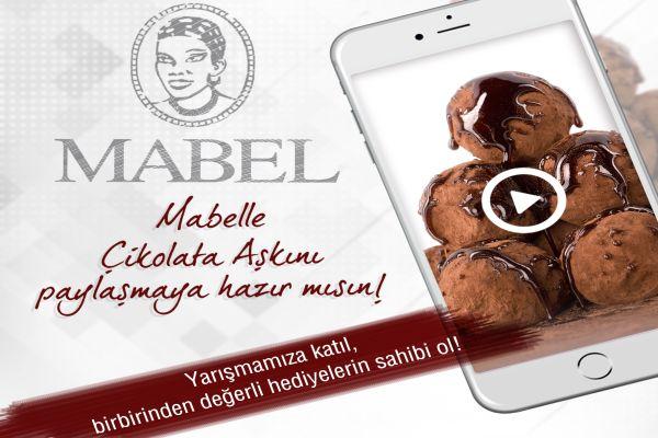 Çikolata aşkını 70 saniyede anlatanlara Mabel çikolata ödülleri!