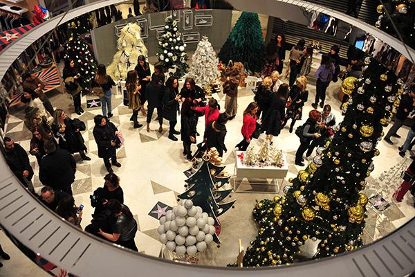 Galeries Lafayette yeni yılı tasarımcılarla kutladı