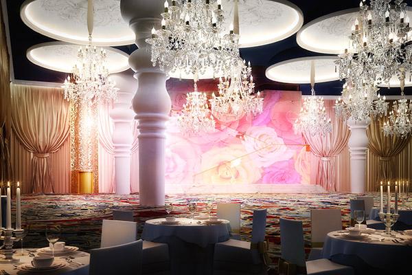 Mondrian Doha düğün lüksünü zirveye taşıyor