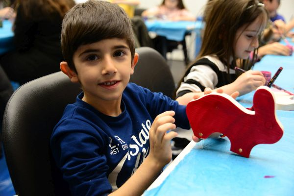 Çocuklara özel kültür merkezi açıldı