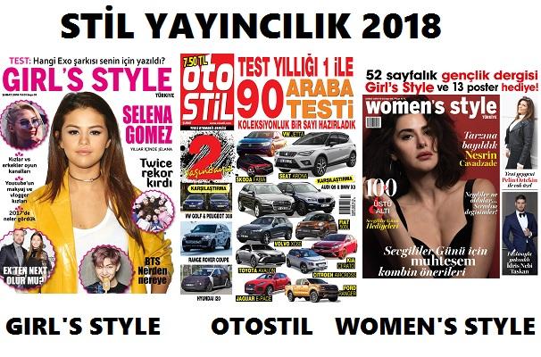 Stil Yayıncılık 2018 yılında da büyümeye devam ediyor