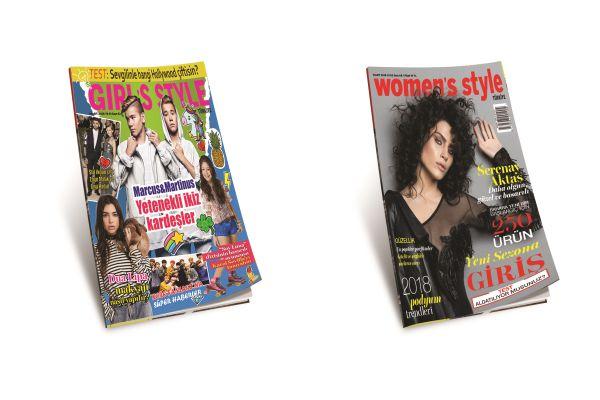 Women's Style ve Girl's Style Mart 2018 sayıları bayilerde