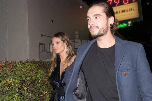 Heidi Klum ve Tom Kaulitz artık ilişkilerini saklamıyor!