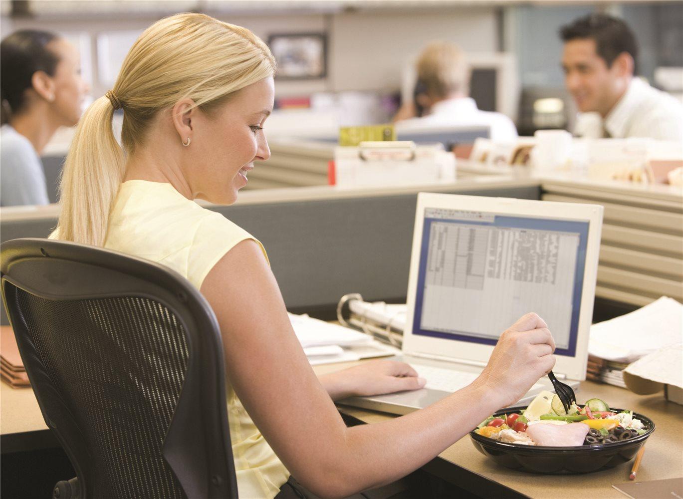 Ofis çalışanlarına 6 beslenme önerisi