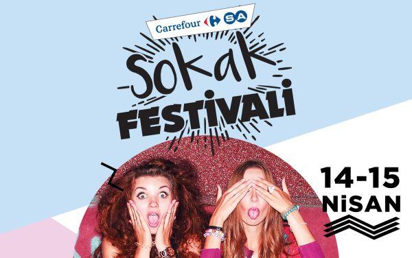 Hafta sonu sokak festivalinde çok eğleneceksiniz!