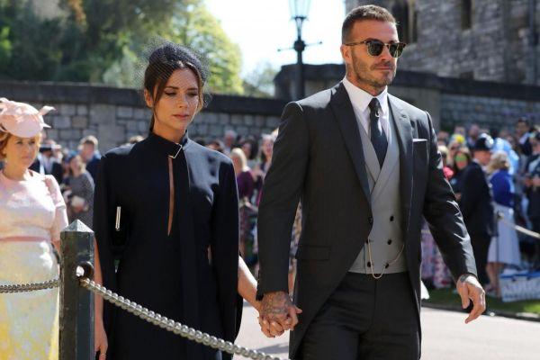 Prens Harry Meghan Markle düğününün en şık adamı David Beckham'dı!