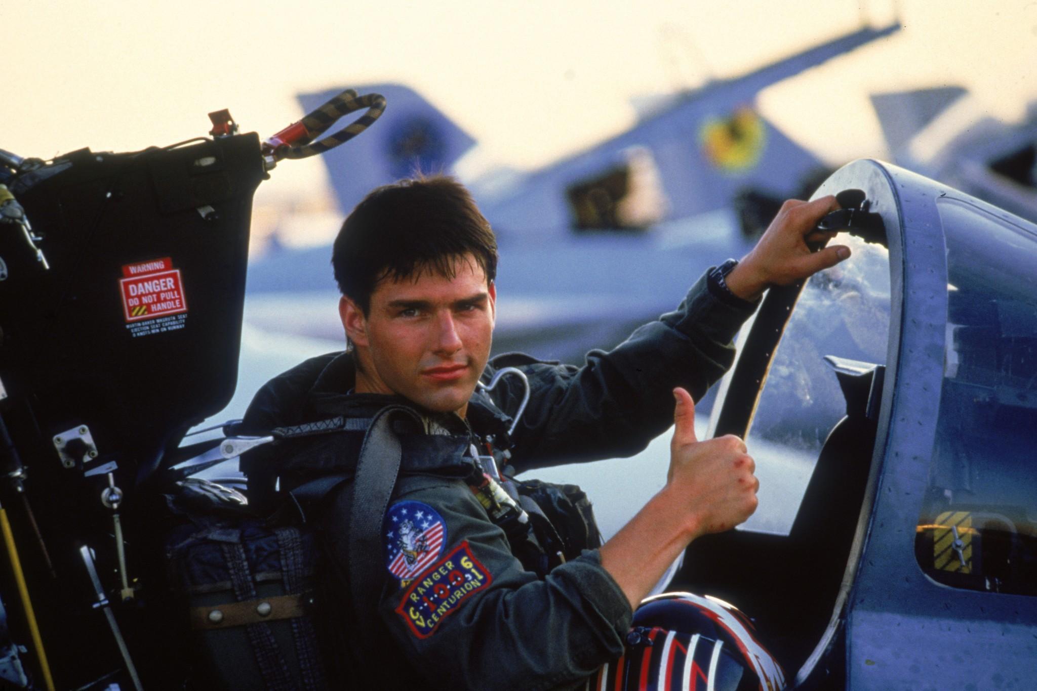 Nihayet o kare geldi! Tom Cruise Top Gun 2'den kare paylaştı!