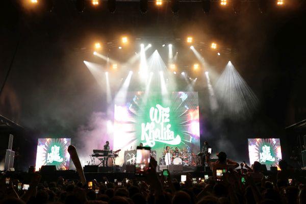 Ünlü Rapçi Wiz Khalifa İstanbul'u salladı