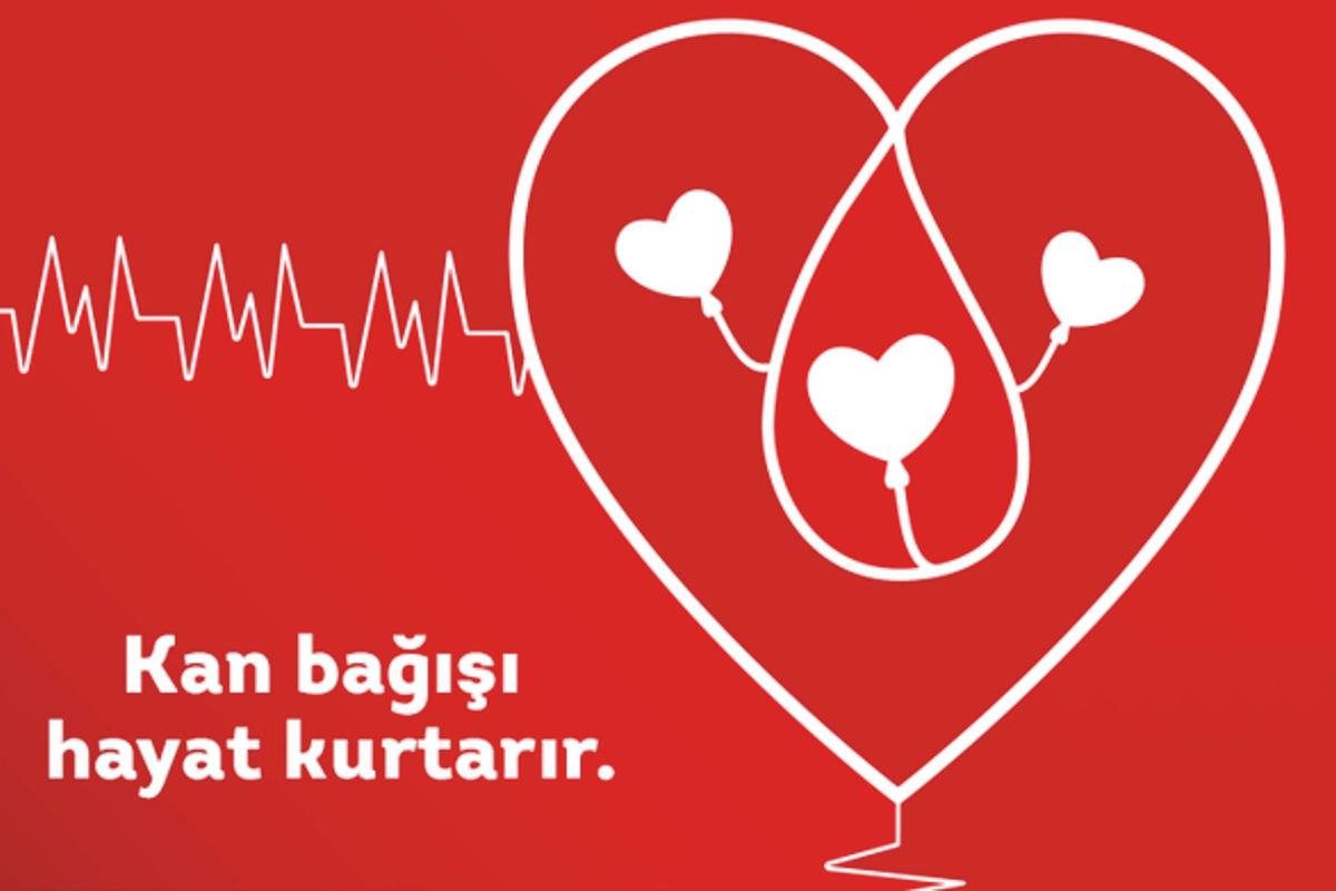 Haydi siz de kan bağışçısı olun!