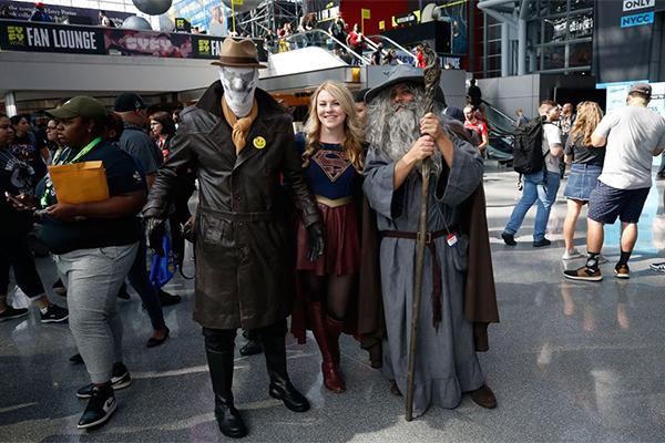 ABD'nin en büyük etkinliklerinden Comic Con 2018 New York'ta başladı