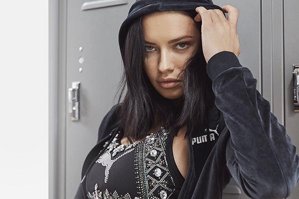 Puma x Adriana Lima: Süper model Adriana Lima Puma ailesine katıldı!