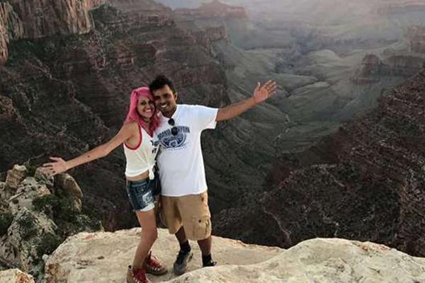 Fenomen çiftin son fotoğrafı oldu uçurumdan düşerek öldüler!