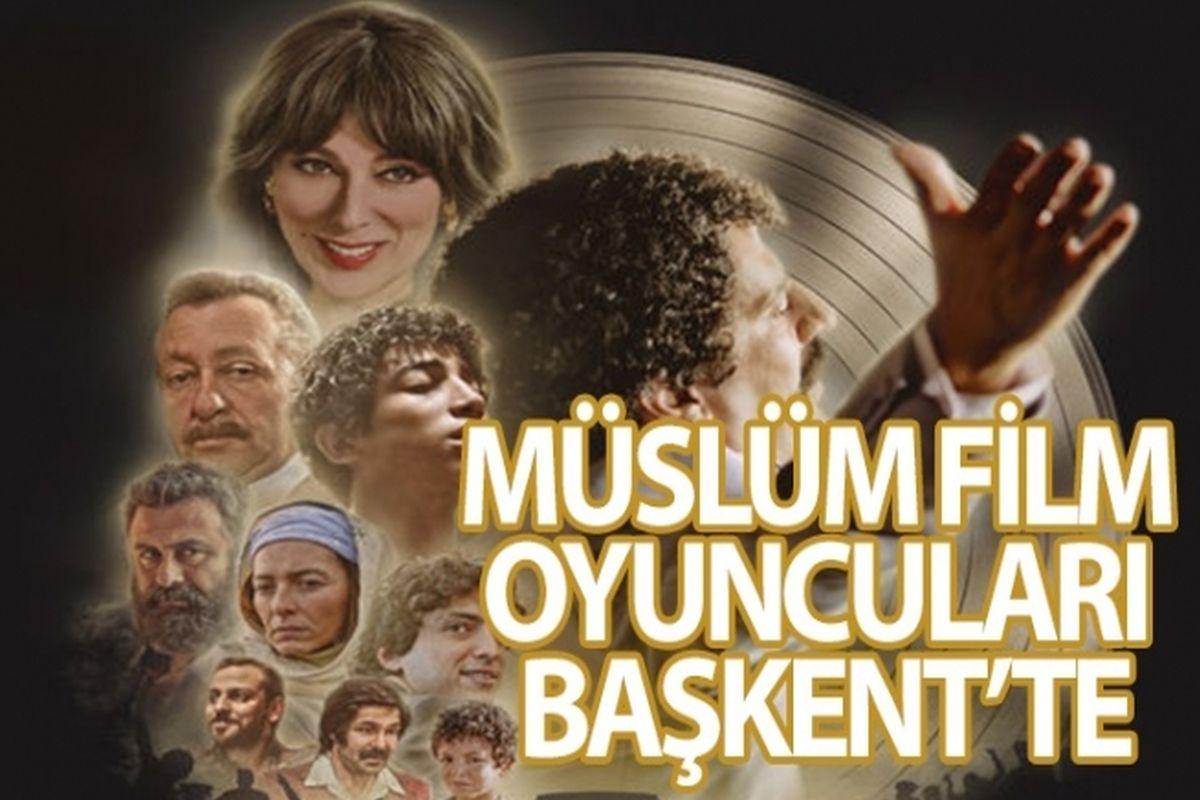 Müslüm film ekibi 7 Kasım'da Ankara'da