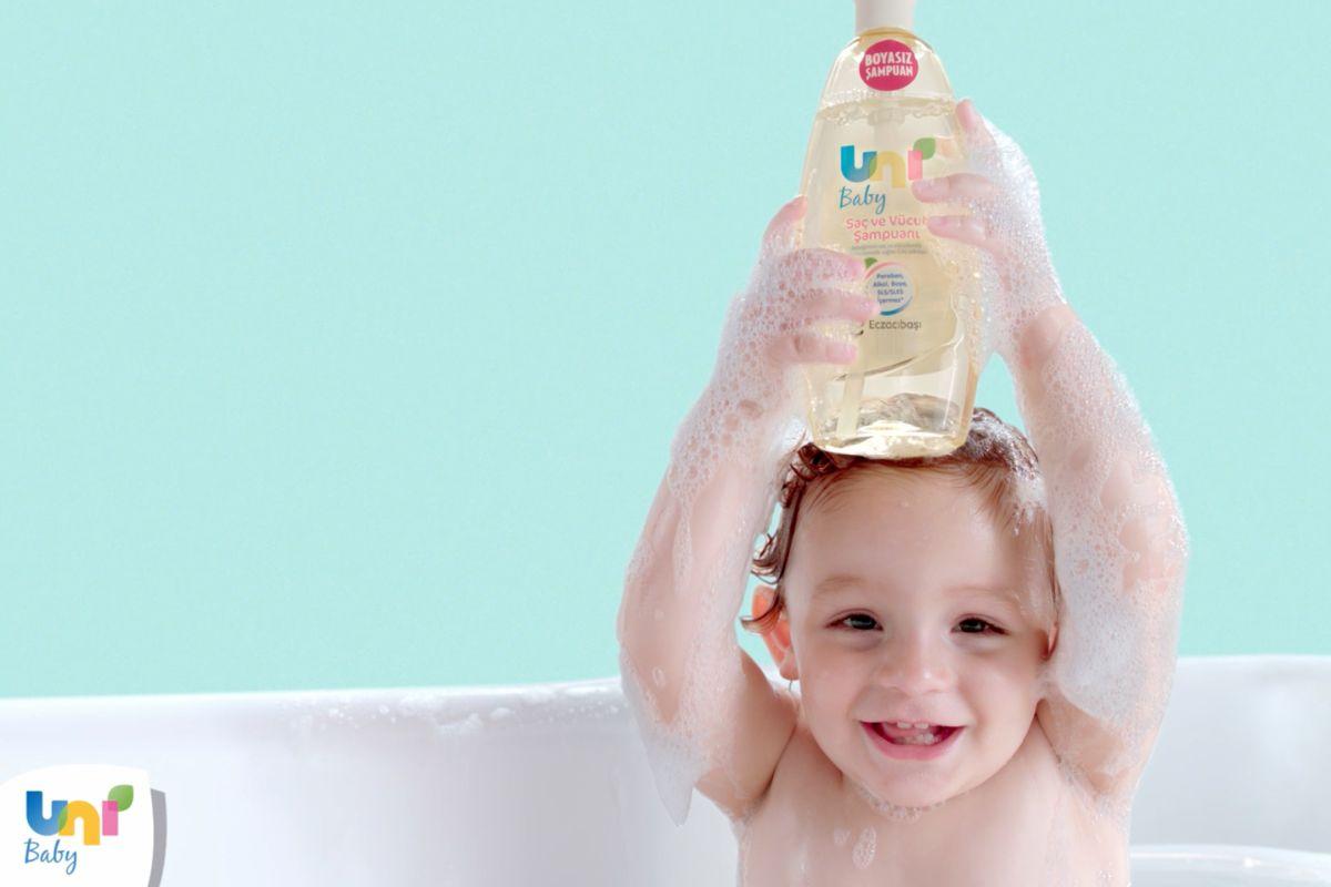 Boyasız şampuan ile banyo zamanları keyfe dönüşsün