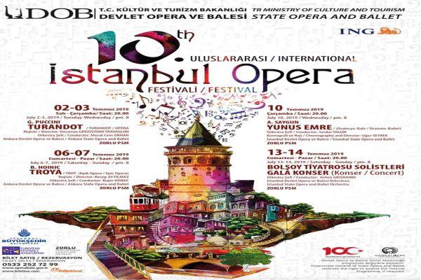 10.Uluslararası İstanbul Opera Festivali başladı