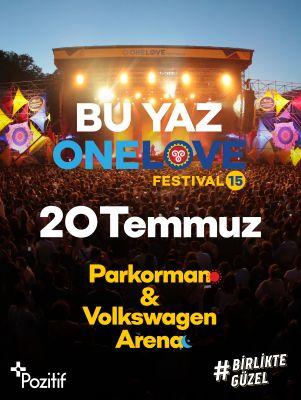 One Love Festival 15 için geri sayım başladı!