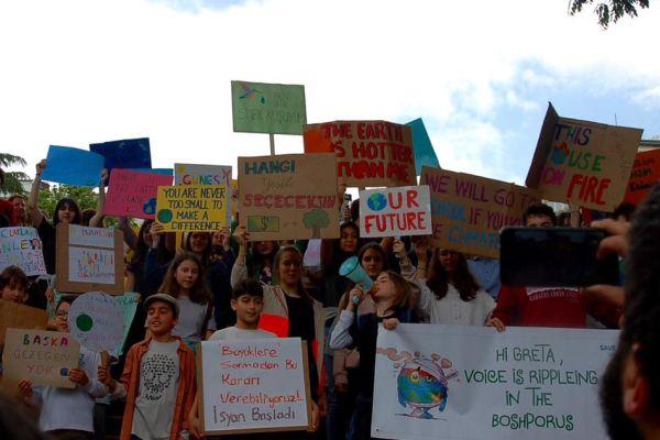 Küresel İklim Grevi haftası için etkinlikler düzenlenecek
